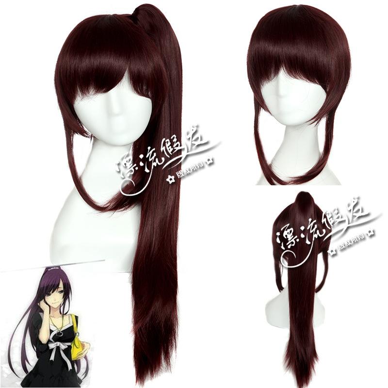 Гаджет  CSS monogatari battlefield order anime wigs connection, the original black instrument Wine red  None Изготовление под заказ