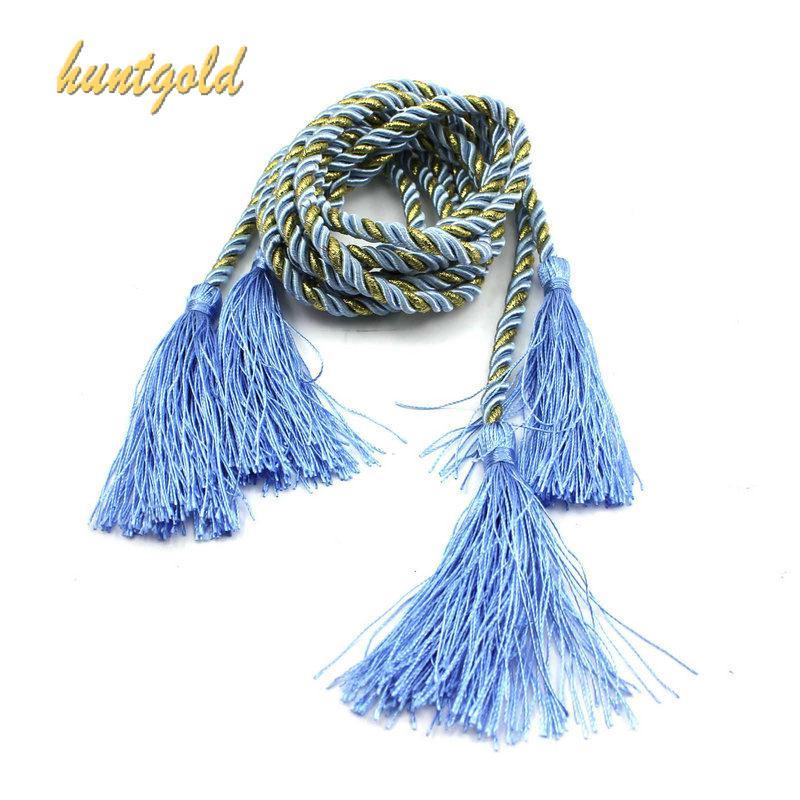 1 Pair Window Curtain Drapery Tying Tassel Fringe Tie-Backs Holder Decorative Band Curtain Tie Rope(China (Mainland))