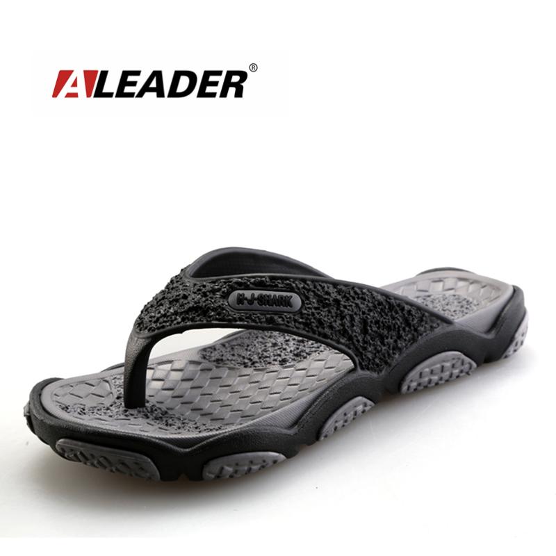 2017 Men's Sandals Casual Summer Slippers Shoes Men Lesiure Rubber Platform Sandals Beach Flip Flops For Men sandalias mujer