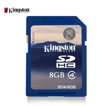 Kingston SD 4gb 8gb 16gb 32gb Secure Digital HC Memory Card camera camcorder Piano frame keyboard  class 4 memory card(China (Mainland))