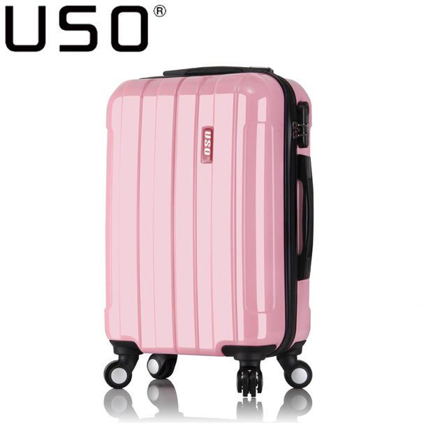 Uso universal wheels trolley luggage travel bag 20 24 male women's 28 bags