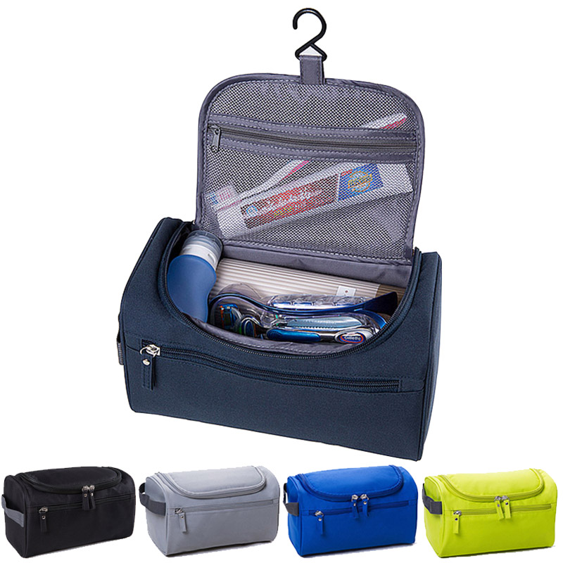 New Mens and Womens Multicolor High Quality Hanging Durable Waterproof Cosmetic Case Beauty Bolsa Toiletry Bag Travel Makeup(China (Mainland))
