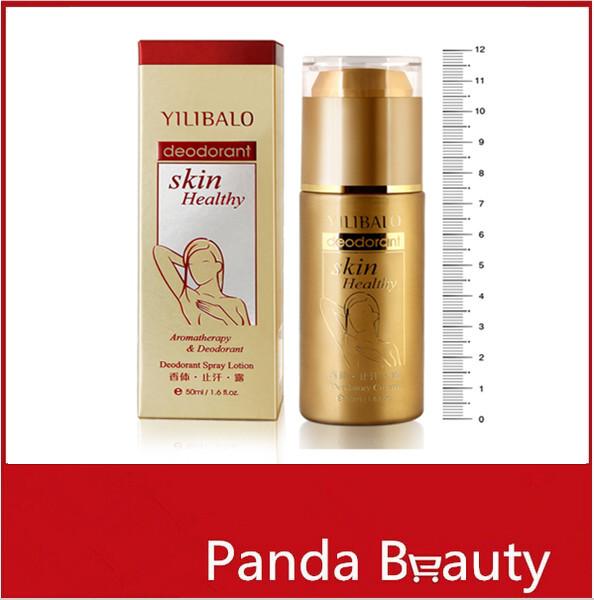 2015 Summer Hot Sale 50ml YILIBALO Women Antiperspirant Deodorants Treatment Underarm Armpit Body Foot Odor Remover Spray(China (Mainland))