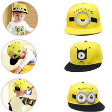 2016 Lovely Minions hip hop hat Gorras hats sport kids baseball caps Parent Children women men casquette canvas snapback cap