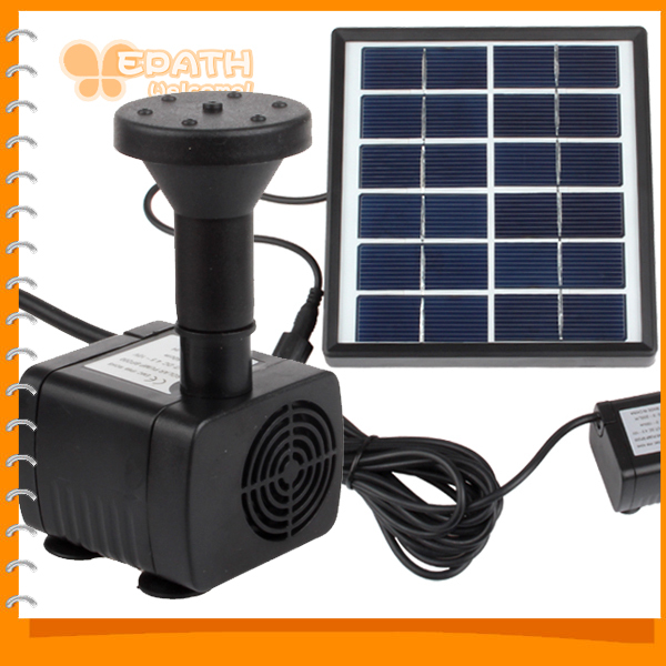 Sale strong stability mini solar powered fountain solar for Fish pond pumps for sale