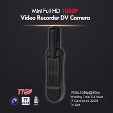Buy T189 8MP Full HD 1080P Mini Camara Pocket Camcorder Pen Voice Recorder Digital Video Camera Clip Mini DV for $26.42 in AliExpress store