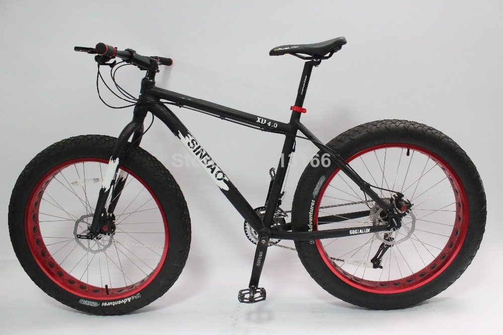 Big Bikes With Big Tires Cool Big Tire Snow Bike quot