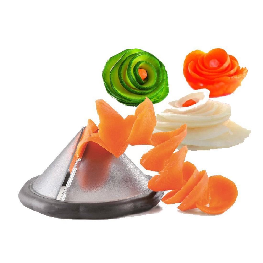 Practical Creative kitchen gadgets vegetable spiral slicer tool kitchen accessories cooking tools Random(China (Mainland))