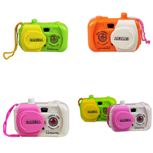 Fun Colourful Camera Centre Toy Toddler Baby Simulation Camera School Toys Kids Intelligence Educational Improve