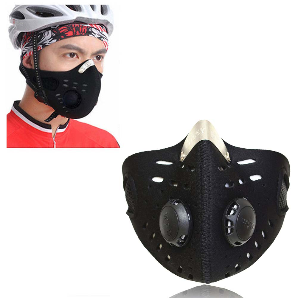 NEW 2015 Outdoor Sports Bike Face Mask Filter Air Anti-Pollution for Bicycle Riding Traveling Dustproof Mouth-muffle(China (Mainland))