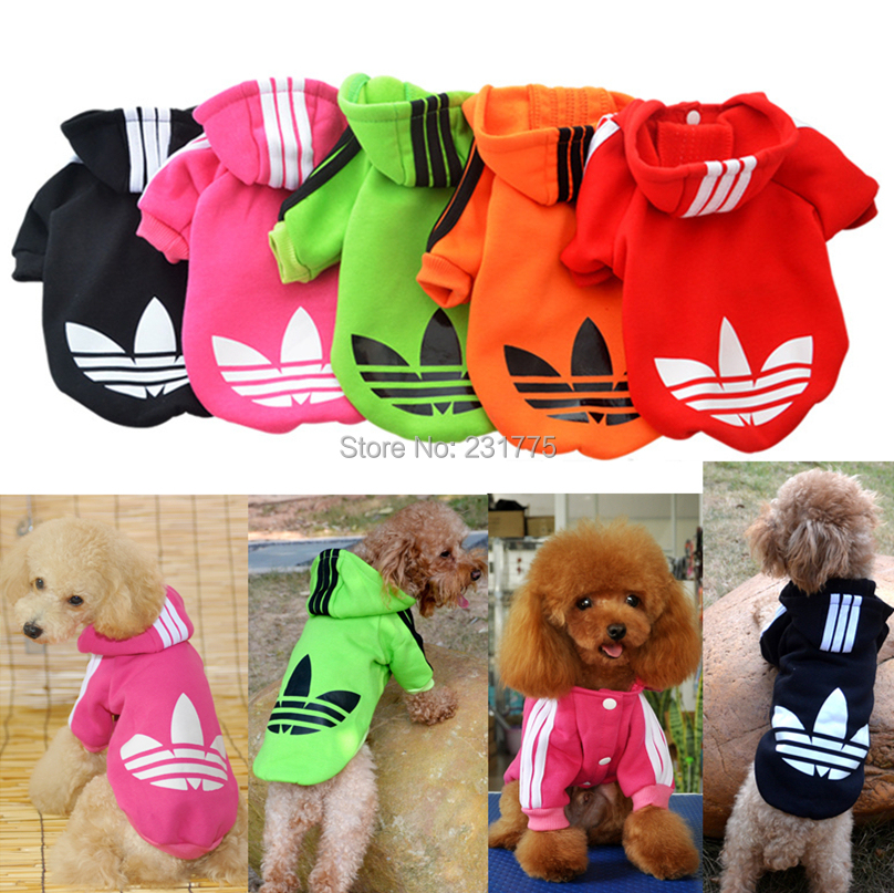Pet Cat Dog Clothes Clothing Sweater Warm Coat Shirt Dress, Winter Hooded Coat For Dogs Cats 10(China (Mainland))