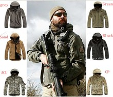 TAD V 4.0 Men Outdoor Hunting Camping Waterproof Coats Jacket Army Coat Outerwear Hoodie Army Green S,M,L,XL,XXL (China (Mainland))