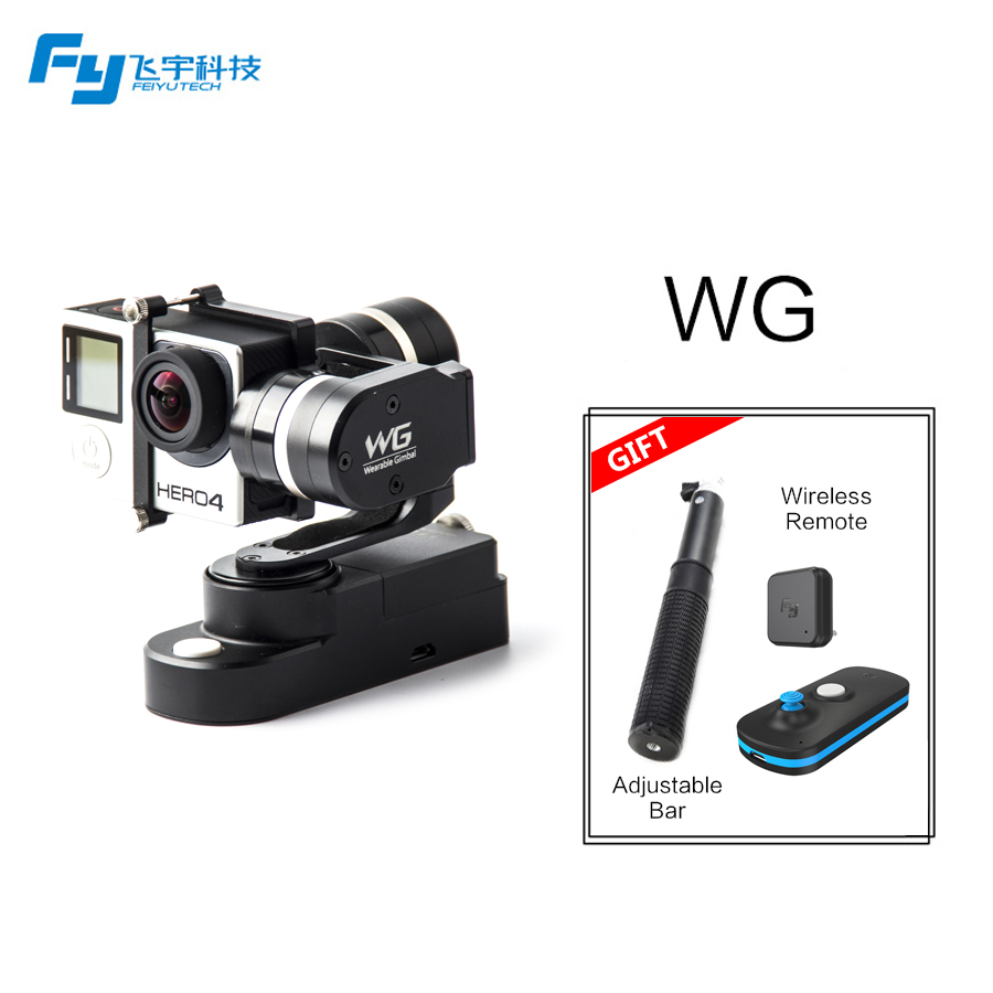 Feiyutech Direct Selling FY WG Wearable Metal Stabilizer Feiyu 3 Axis Brushless Gimbal For Gopro Hot Sale 2015 New Arrival(China (Mainland))