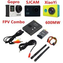 FPV 5.8G 600mW A/V 32CH Transmitting/Receiving System TS832 + RC832 RP-SMA Kit