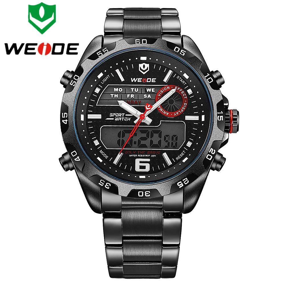 watches men weide luxury brand quartz watch oversize. Black Bedroom Furniture Sets. Home Design Ideas