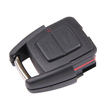 New 2Pcs/Lot Modified Remote Key Shell Case Fob for Vauxhall Opel Astra Zafira Vectra Omega 2 Buttons Free Shipping