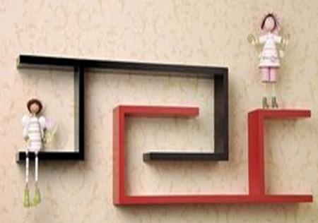 The new shape shelf shelving decorative frame clapboard wall ledge mount bracket(China (Mainland))