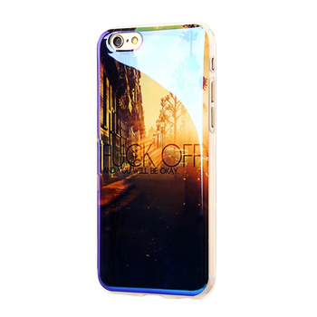 Etui plecki do iPhone 6 iPhone 6S blu-ray sylikon printy