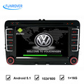 FREE SHIPPING for VW car dvd player factory sell update to Quad Core1024 600 Android 5