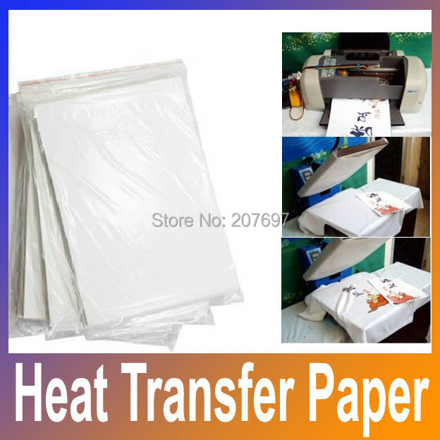 Factory Price Heat Transfer Printing A4 Size Transfer Paper for Sublimation Press Printing Free Shipping(China (Mainland))