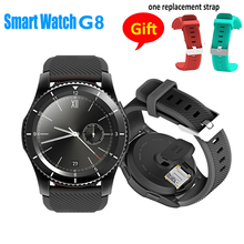 Buy 2017 Hot NEW G8 Smartwatchs Bluetooth 4.0 SIM Card Call Message Reminder Heart Rate Monitor Smart watchs IOS Android O2 for $39.59 in AliExpress store