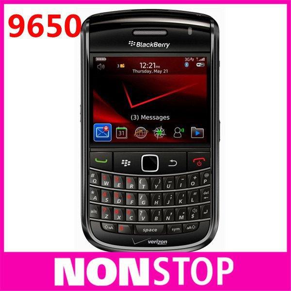 9650 Unlocked Original BlackBerry Bold 9650 Cell Phone DHLor EMS Free Shipping 5PCS/LOT(China (Mainland))
