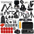 Vamson for Gopro Accessories Set for go pro hero 5 4 3 kit Three way selfie