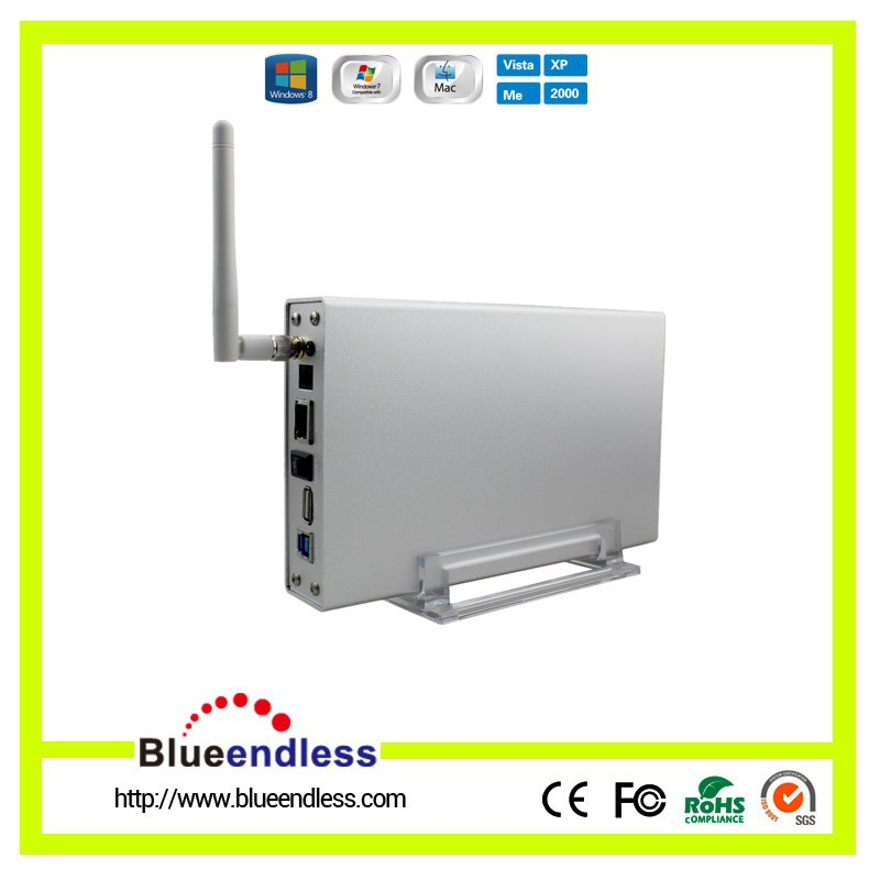 """WiFI HDD Enclosure 3.5"""" USB 3.0 High Speed WiFi Wireless Storage Devices Wireless Router Sata Box for Computer /Mobile Phone(China (Mainland))"""