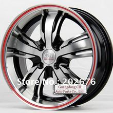 13-INCH, 14-INCH, 15-INCH, BROADSIDE, RED EDGE SILVER ALLOY TUNING WHEEL RIM, 4X100,FOR Jetta Swift City Fit Carnival Sail(China (Mainland))