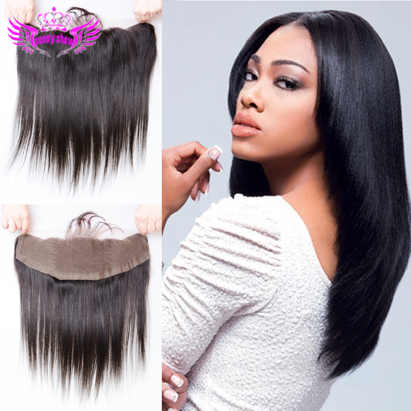 Ms lula hair products top 7a brazilian virgin hair straight lace frontals with baby hair cheap full frontal lace closure 13 x 4<br><br>Aliexpress