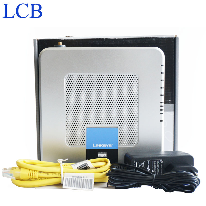 New Linksys 802.11g/b Wireless-G ADSL Router Voip 2-FXS Ports Internet Phone Adapter ADSL2/2+modem VPN Router WAG54GP2(China (Mainland))