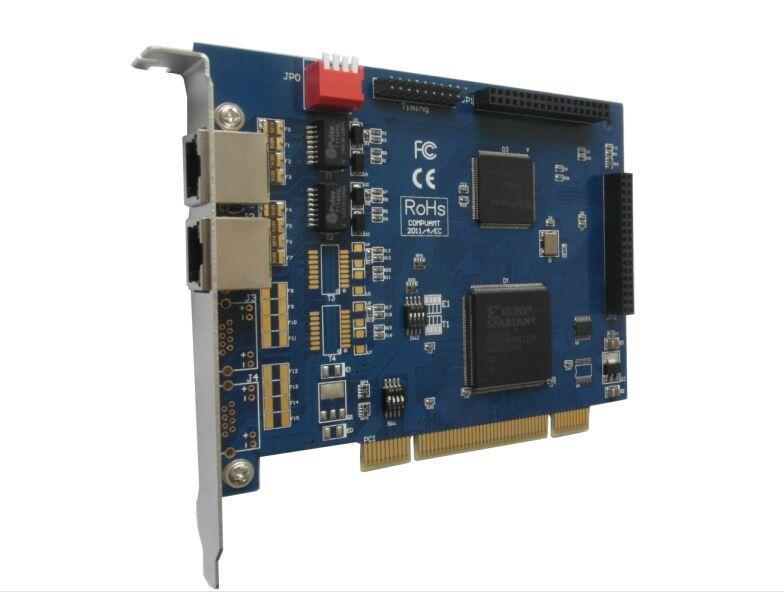 Free shipping TE220P 2E1 2 port PCI asterisk ISDN PRI card TD410P TE420P TE22E(China (Mainland))