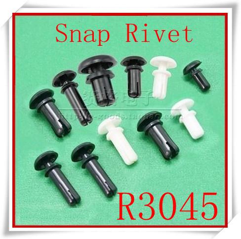 1000pcs/lot High Quality R3045 Nylon Plastic  Snap Rivet<br><br>Aliexpress