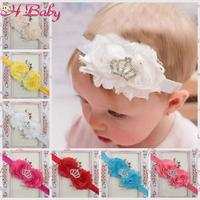 10pcs Baby Christmas Hair Boutique Headbands Baby Flower Crown Hair Band Photo Props Infant Hair Accessories  TS-0170