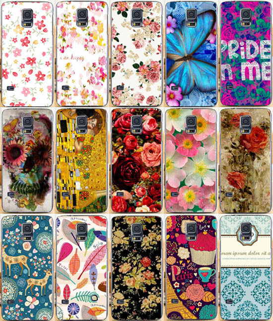 Mobile phone case Hard Back Cover Skin Shell DIY pattern Cell phone for samsung galaxy s5mini G800(China (Mainland))