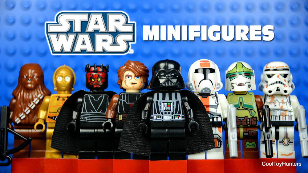 STAR WARS Storm Troopers Darth Vader Boba Fett C-3PO Maul Minifigures Assemble Building Blocks Kids Toys Gifts - LEG0 TOYS store