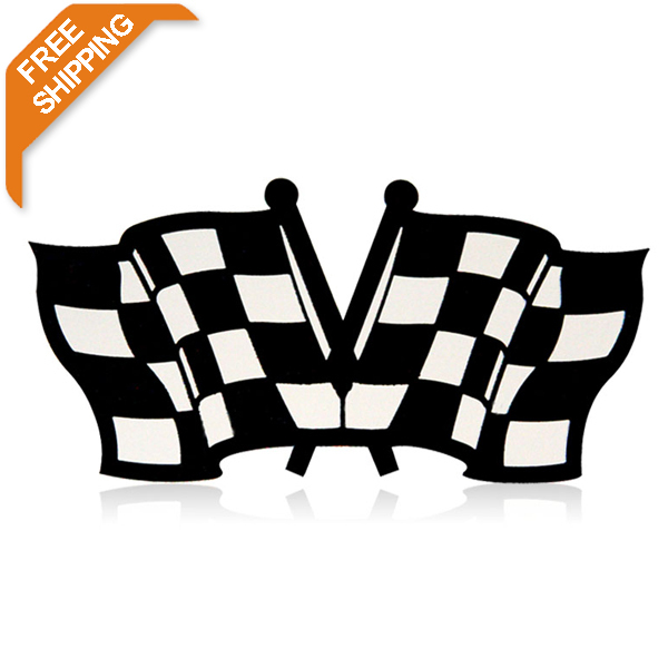 TIROL free shipping Stainless Steel Shield/Emblem Car Sticker For Auto Exterior Decoration T20453