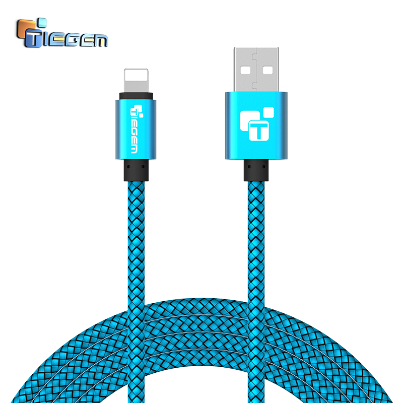 Tiegem USB Charger Cable for iPhone 5 5s 6 6s ipad SE for ipad air mini Wire 1 02 m Car Fast Charging cord Mobile Phone Cables(China (Mainland))