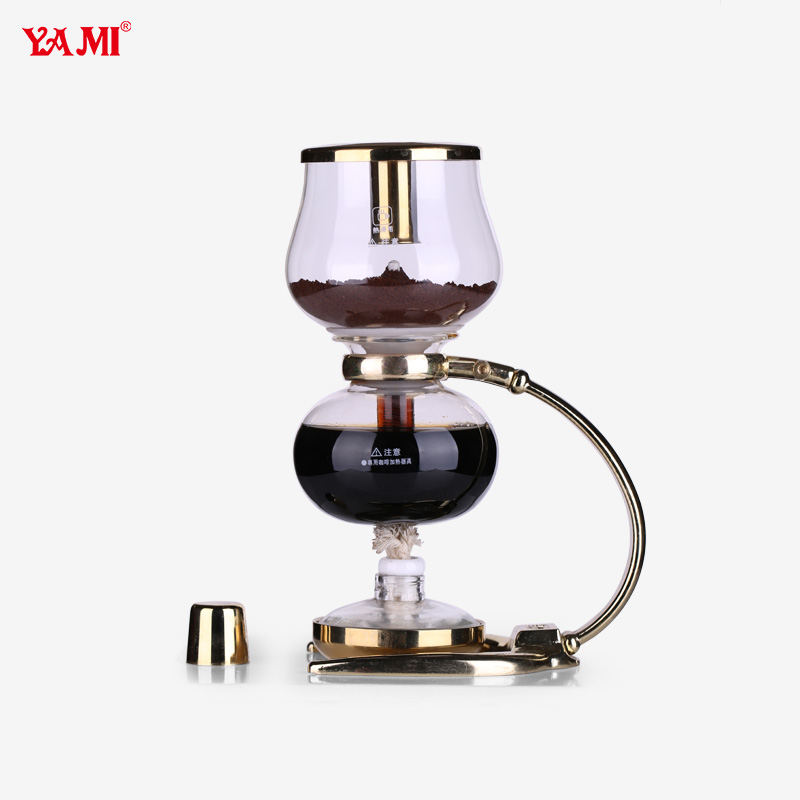 Coffee Maker For Single Person : YAMI / Yami glass siphon coffee pot home coffee brewing machine manual one person siphon coffee ...