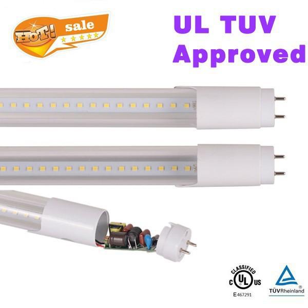 500pcs/lot T8 led tube 1200mm/1.2m 20w TUV UL led tube g13 2000-2200lm t8 led fluorescent tube 4ft light(China (Mainland))