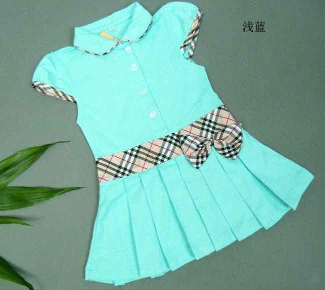 5 pieces / lot HOT SALE New Summer British Style Bow Short Sleeve Princess Girls Dress &amp; Girl Tennis Dress<br><br>Aliexpress