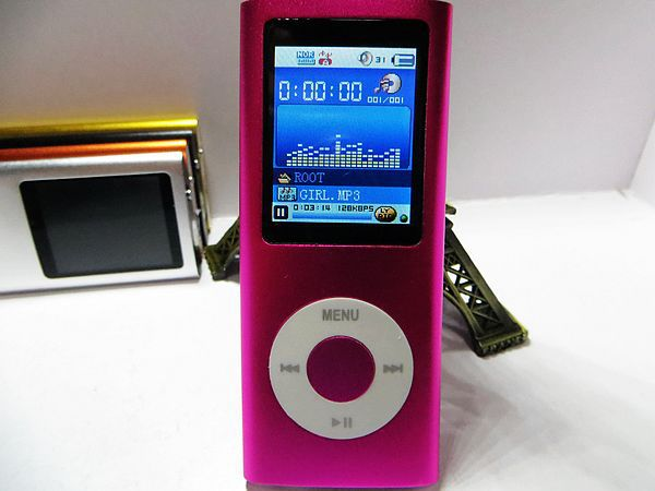 Christmas gift 800pcs/lot 32GB 4TH GEN MP3 MP4 PLAYER FM VIDEO 9 colors for choose DHL shipping(China (Mainland))