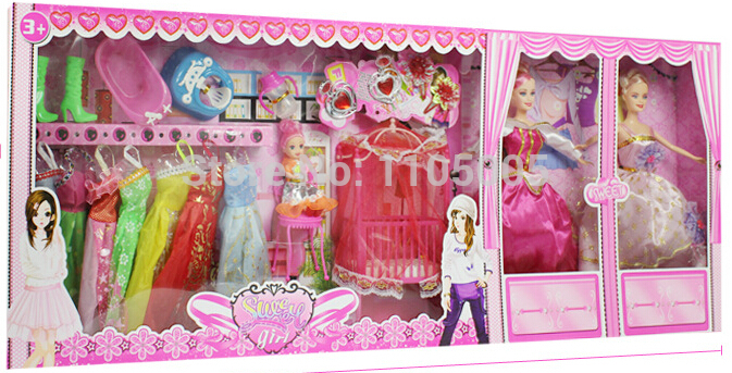 2014 New Princess Prince With Little Kelly Girl Cloth Shose Bag Bike And More Accessories Best Gift(China (Mainland))