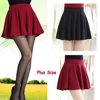Лето стиль женщины юбка упругой юбка дамы миди юбка сексуальных плиссированных юбка ...