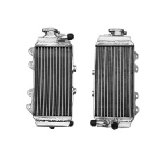 New radiator for Honda CRF150R CRF150RB 2007-2009 aluminum water box motorcycle replacement parts engine cooling parts(China (Mainland))