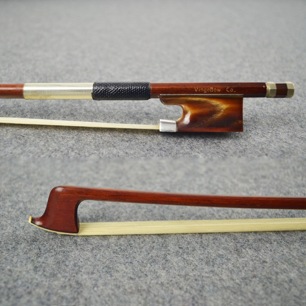 High Performance Concerto Pernambuco Wood Material VIOLIN BOW! SWEET and MELLOW Tone, Unbleached Mogolia Horse Hair Oxhorn Frog(China (Mainland))