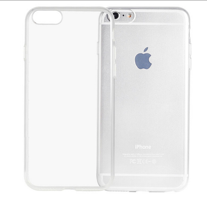 Transparent Clear Case for iPhone 6 Case for iPhone 6s Soft Silica Gel TPU Silicone Ultra Thin Phone Cover(China (Mainland))