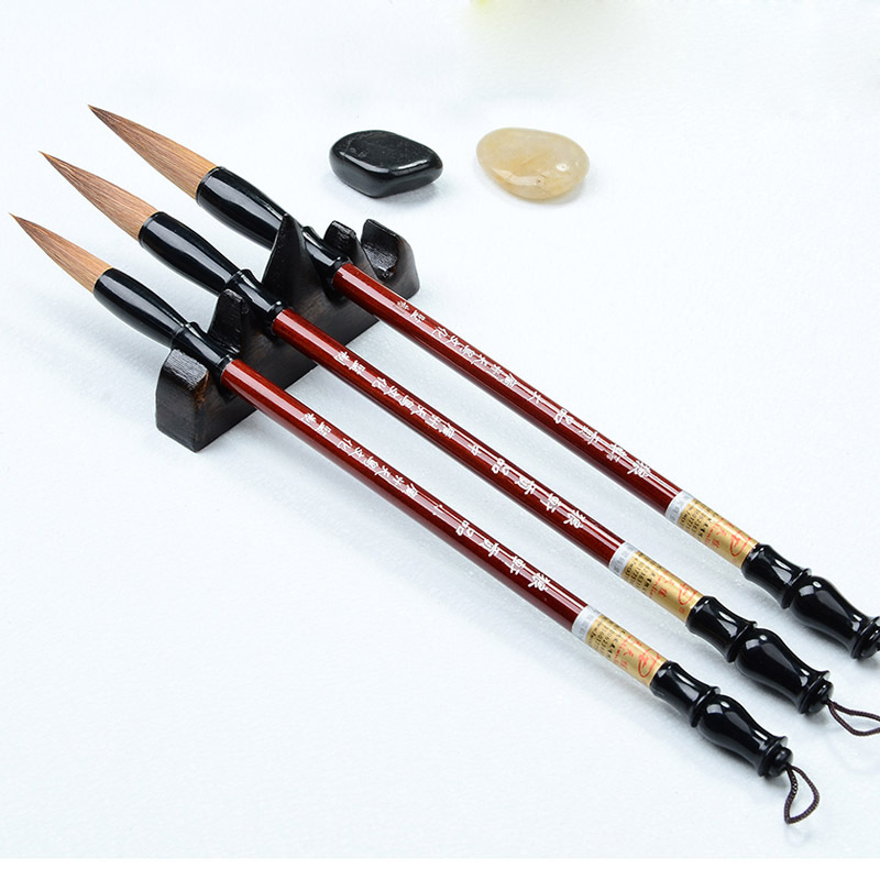 3pcs Set Tool Of Chinese Brush Pen Set Traditional Chinese