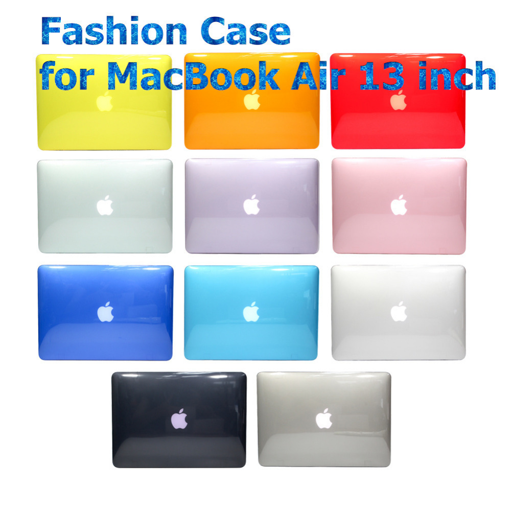 "Colorful Clear Crystal Hard Case Light Weight for Apple MacBook Air 13.3 inch (A1466/A1369) Shell Cover for MacBook Air 13""(China (Mainland))"