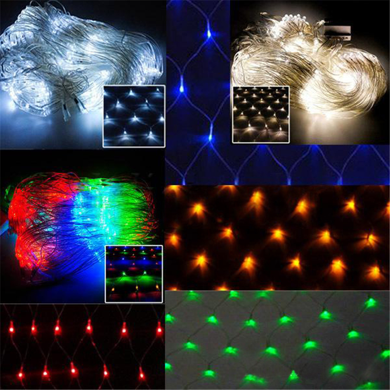 A String Of Holiday Lights Has 73 Light Bulbs In Series : Aliexpress.com : Buy 2*2M 144LEDs LED Waterproof Colorful Net Mesh String Light Christmas ...